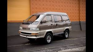 SALE REVIEW: 1991 TOYOTA LiteAce Limited 4wd Van by VANLIFE ...