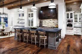 Rock Backsplash Kitchen Rustic Stone Kitchen Backsplash Outofhome