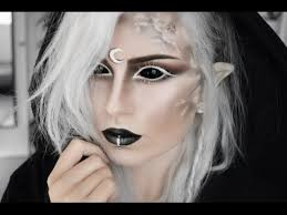 demon moon elf makeup tutorial