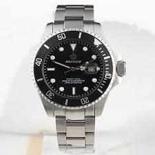 reginald luxury mens silver stainless steel watch date analog image is loading reginald luxury mens silver stainless steel watch date