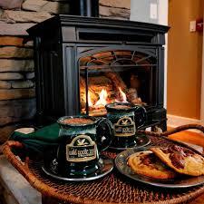 winter eden jacuzzi fireplace suite wild goose inn bed breakfast east lansing michigan