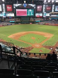Chase Field Seating Chart Infield Reserve Chase Field Section 317 Home Of Arizona Diamondbacks