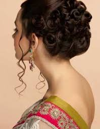 Indian Hair Style indian hairstyle for wedding party hairstyle fo women & man 7609 by wearticles.com