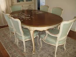 7pc dining room set vine john widdib french provincial