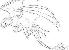 Flying Dragon Coloring Pages Realistic Night Printable Head Auchmar