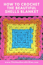 Shell Afghan Crochet Pattern Best Decorating Design