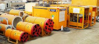 microtunneling. microtunneling equipment on site ifg uae n