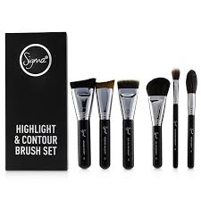 sigma beauty highlight and contour brush set loading zoom