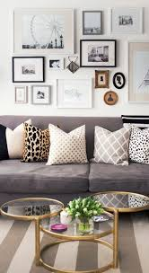 gray couch pillows. Fine Pillows Alaina Kaczmarskiu0027s Lincoln Park Apartment Tour  Where The Heart Is  Pinterest Home Home Decor And House With Gray Couch Pillows D