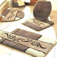 brown bathroom rugs brown bath rugs round bathroom rug sets one direction set large fashion target