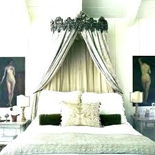 Canopy Bed Drapes Four Poster Bed Curtains Canopy Bed Drapes ...