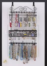 Amazon.com: Longstem: 6100 Overdoor Wall Jewelry Organizer Valet ...