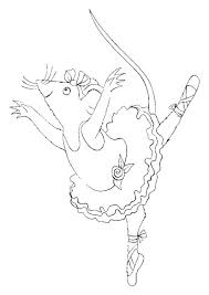 Small Picture Get This Free Angelina Ballerina Coloring Pages to Print 993960