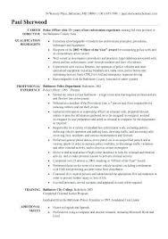 Sample Criminal Justice Resumes Professional Criminal Justice Resume Examples New Resumes Free