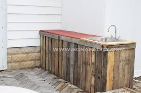 outdoor bar and countertop
