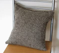Knit A Pillow Cover
