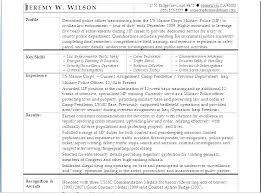 Veteran Resume Examples Army To Civilian Resume Examples Bitacorita