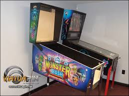 wpc style standard body virtual pinball cabinet satin finish