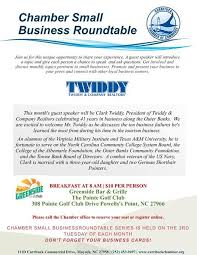 chamber small business roundtable at greenside bar grille powells point