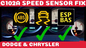 Dodge Ram Abs Light Reset How To Fix Dodge Chrysler Abs Traction And Esp Bas Fix Wheel Speed Sensor Diy