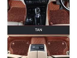 7d luxury custom fitted car mats for maruti suzuki