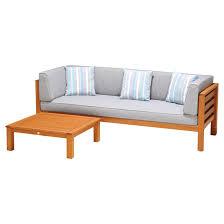 patio sofa and coffee table set