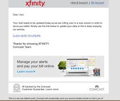 The xfinity app is the easiest way to activate your internet service, get online in minutes, and set up your home network — no technician needed. Scam Emails About Comcast Email Comcast Xfinity