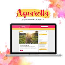 Aquarella Lite Lifestyle Wordpress Theme Wppug