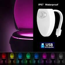Inside Motion Lights Sporthomer Motion Sensor Led Toilet Night Light New Usb
