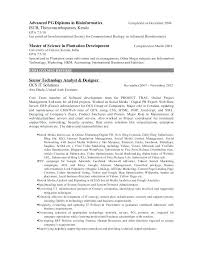 Bioinformatics Resume Sample Bioinformatics Resume Analyst Sample shalomhouseus 5