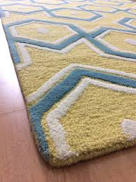 area rugs ideal round blue as teal and yellow rug cream awesome intended for 13