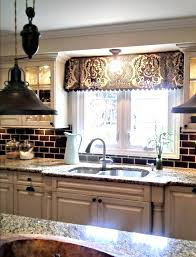 cosy kitchen valances for windows ideas