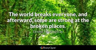 After Break Up Quotes Inspiration Broken Quotes BrainyQuote