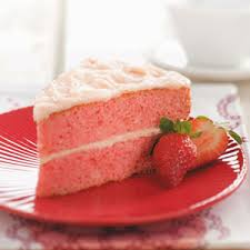slice of strawberry cake. Delighful Slice And Slice Of Strawberry Cake H