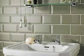 olive green metro tiles for the