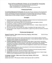 Dcs Engineer Sample Resume Adorable Resume For Production Engineer Production Engineer Professional
