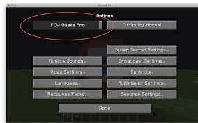 How To Change Fov In Minecraft Pc Powermall