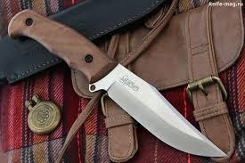 <b>Туристический нож Caspian</b> AUS-8 Satin Walnut | Ножи, Клинок ...