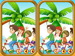 <b>Summer Beach</b> Differences - free online game
