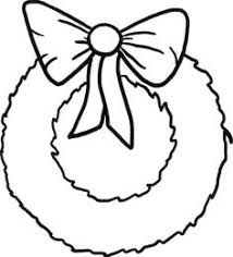 plain christmas wreath coloring page. Brilliant Christmas Simple Christmas Wreaths With Ribbon Coloring Pages  Sun  Christmas Colors Throughout Plain Wreath Page H
