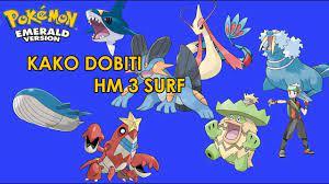 Kako dobiti HM 3 Surf - Pokemon Emerald - YouTube