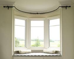 Curved Curtain Pole Bay Window