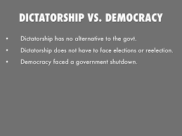 dictatorship essay democracy vs dictatorship what do you prefer  democracy vs dictatorship what do you prefer essay presentation software that inspires haiku deck