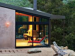 Stylish cabin in the woods - Sunset