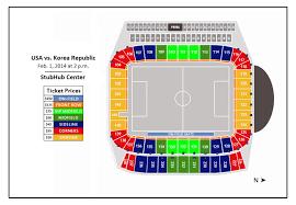 Stubhub Center Football Seating Chart U S Mens National Team Vs Korea Republic Stubhub Center