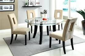 glass kitchen table set glass kitchen table in contemporary sets top awesome tables of round glass