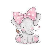 Baby Elephant Drawings Cute Elephant Drawing Nursery Sketches In 2019 Drawings Cute