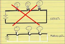 wiring lights in series vs parallel wiring image wiring lights in parallel wiring auto wiring diagram schematic on wiring lights in series vs parallel
