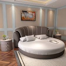 2,700 round bedroom furniture set products are offered for sale by suppliers on alibaba.com, of which living room sofas accounts for 4%, bedroom sets accounts for 3%, and garden sets accounts for 2. Grey Color Fabric Bed Modern Round Bed From China Factory Bedroom Sets Aliexpress