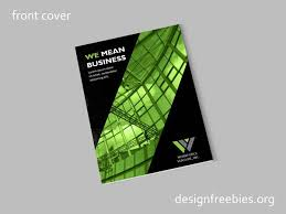 Free Company Report Free Black And Green Company Profile Indesign Template